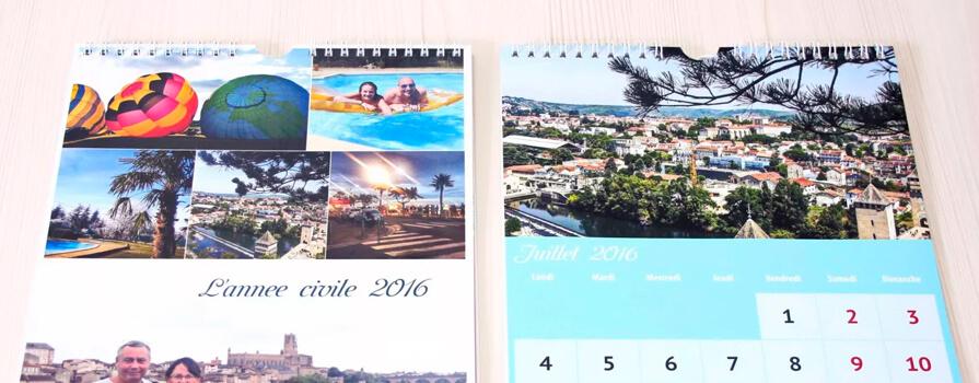 печать календарей а4